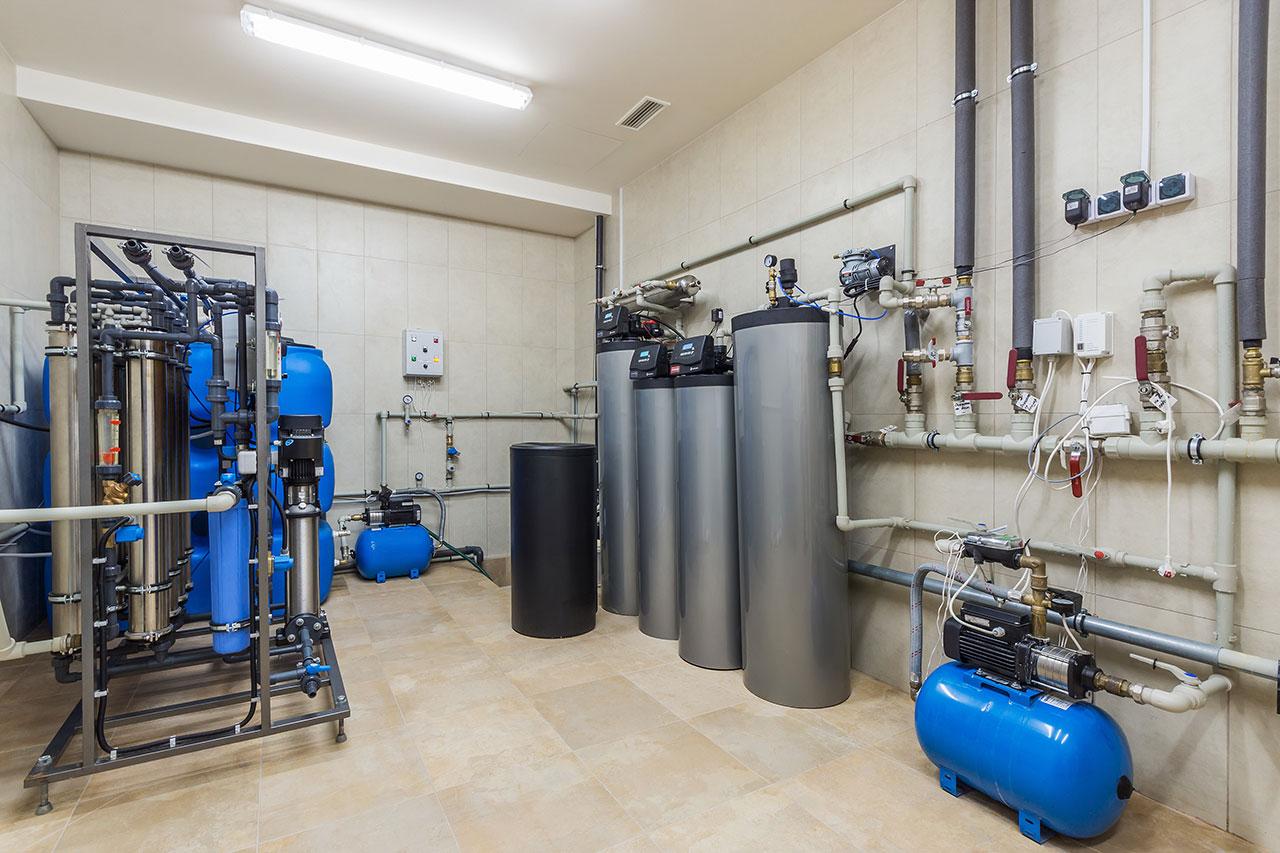 Impianti di filtrazione acqua