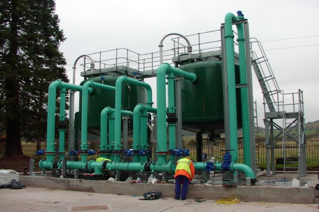 togliere arsenico dall'acqua impianto