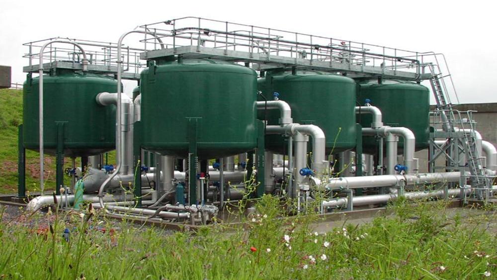 impianti per la rimozione arsenico dall'acqua